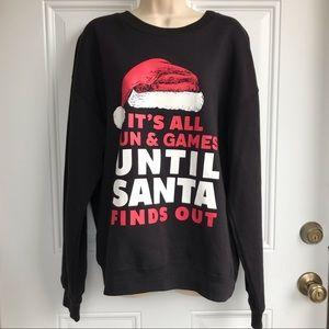 Wound Up Christmas Graphic Sweatshirt EUC